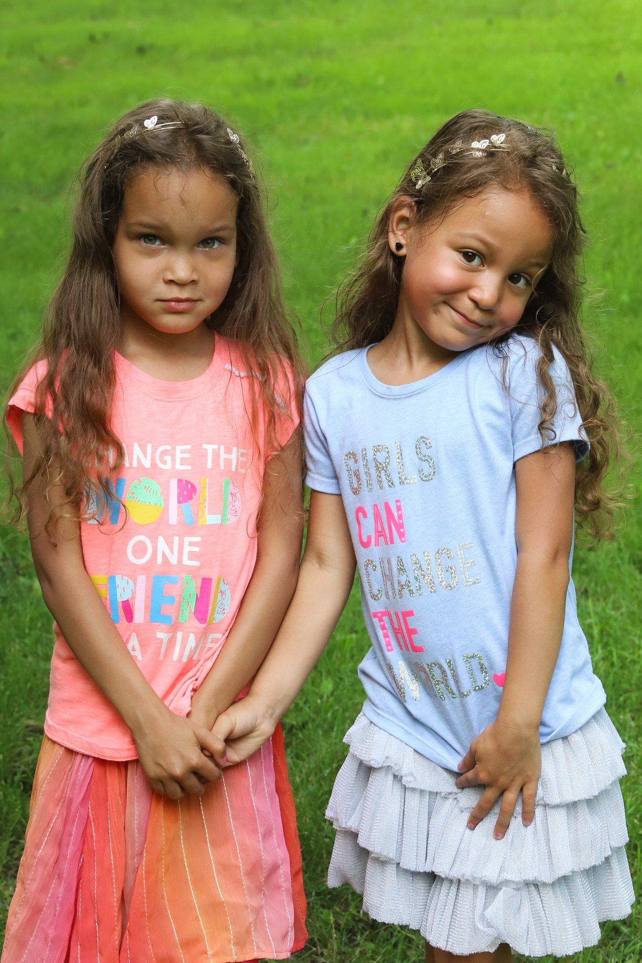 The littles are nicknamed the Dragon and the Unicorn in their family.