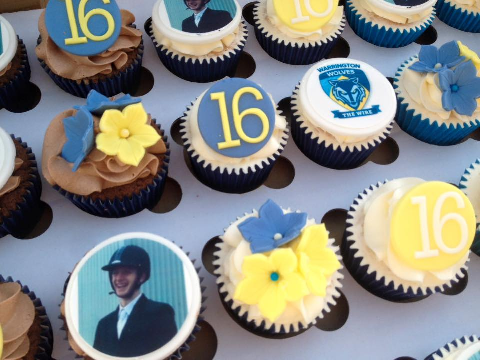 Birthday Logo Cupcakes Delivered UK
