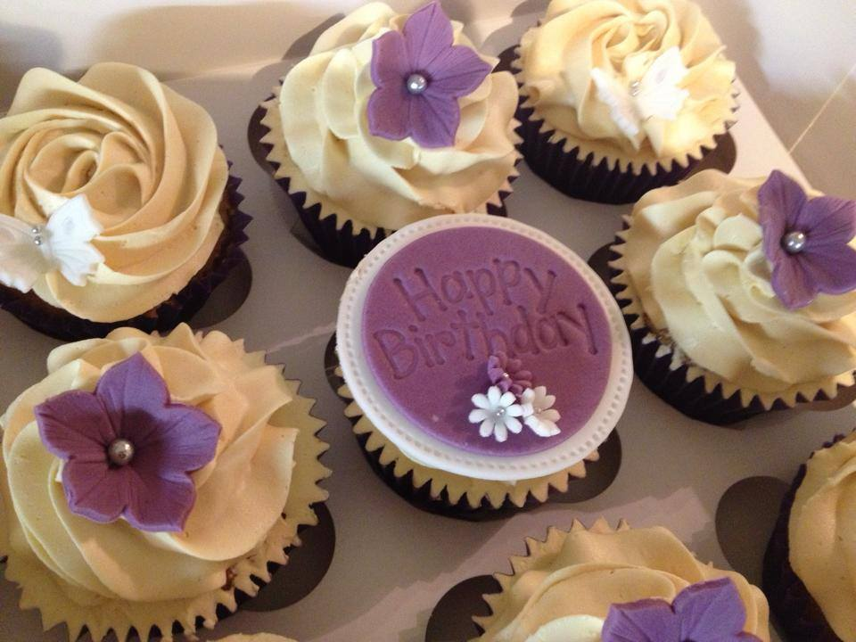 Bespoke Birthday Cupcakes Delivered