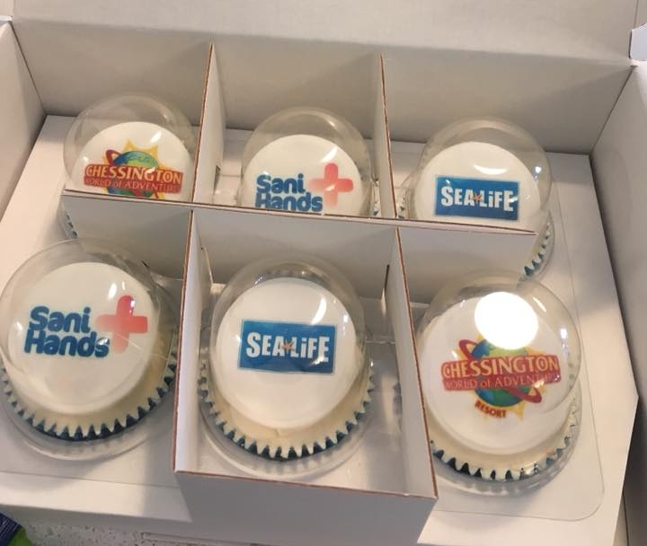 Corporate Cupcakes - Branded Cupcakes - Event Cupcakes - Logo Cupcakes
