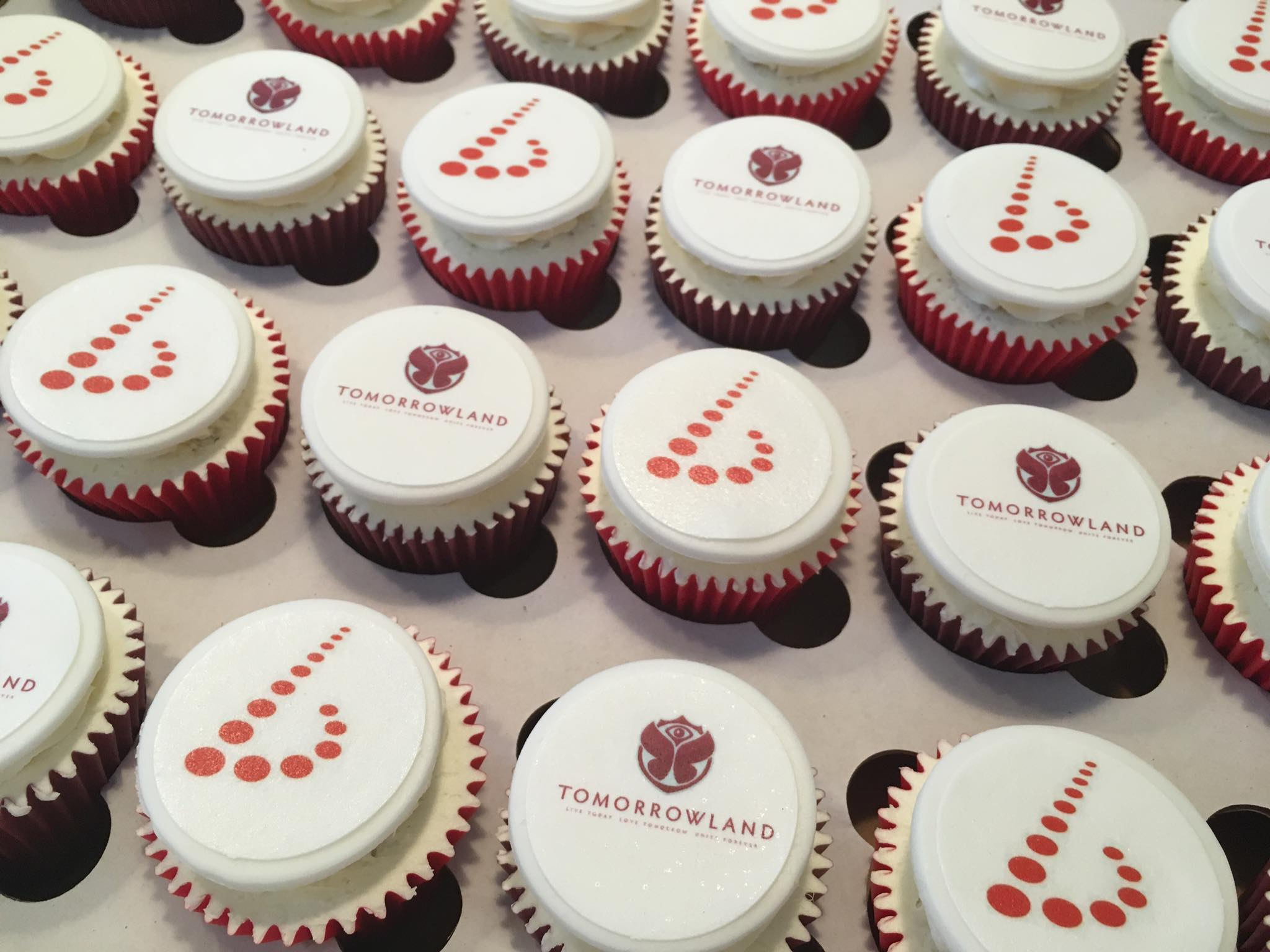 Logo Cupcakes for Promotional Event