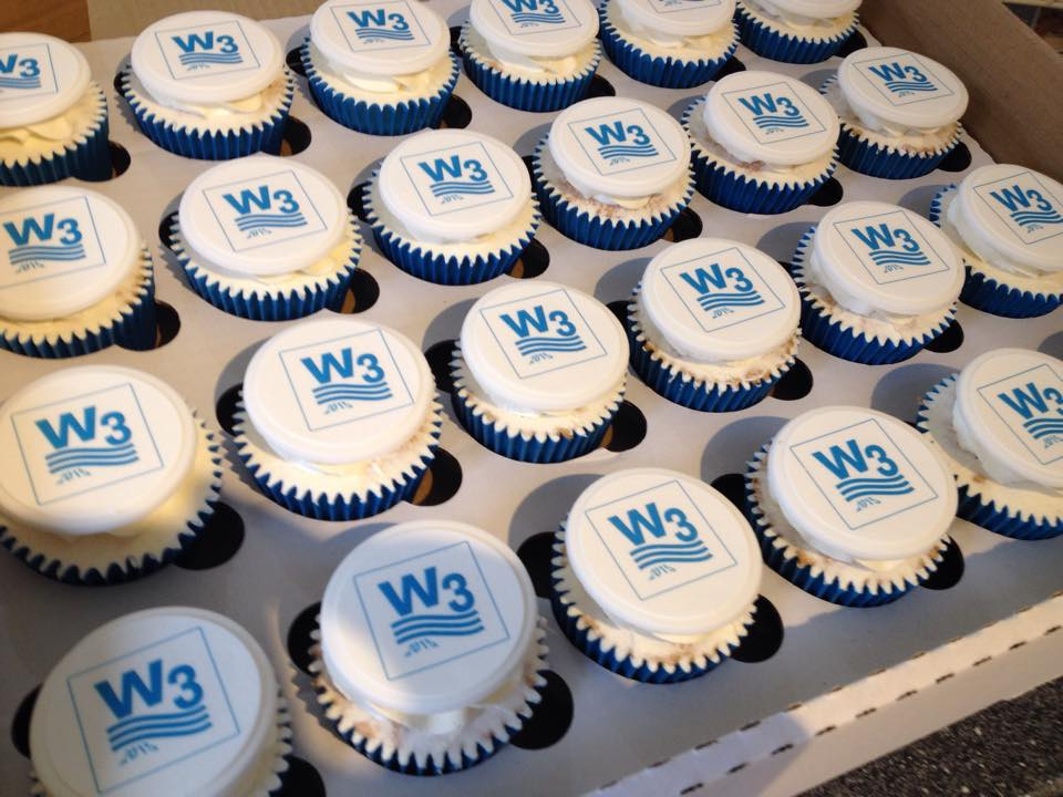 Logo Cupcakes with image printed
