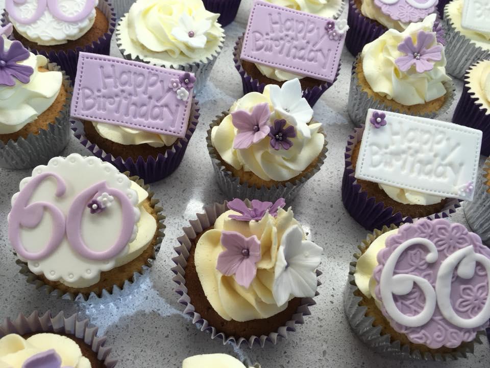 Corporate Logo Branded Cupcakes