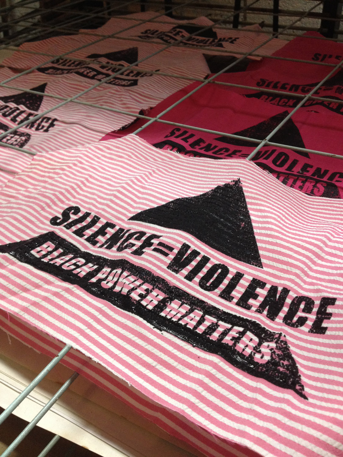 silence is violence patches.jpg