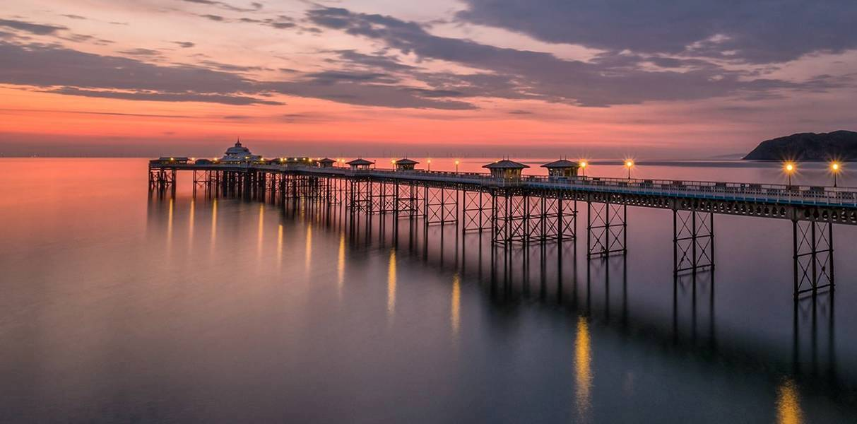 Llandudno Pier (courtesy of St George's Hotel, venue for WICS SSM, 2019)