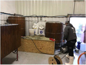 Original 5bbl brew house