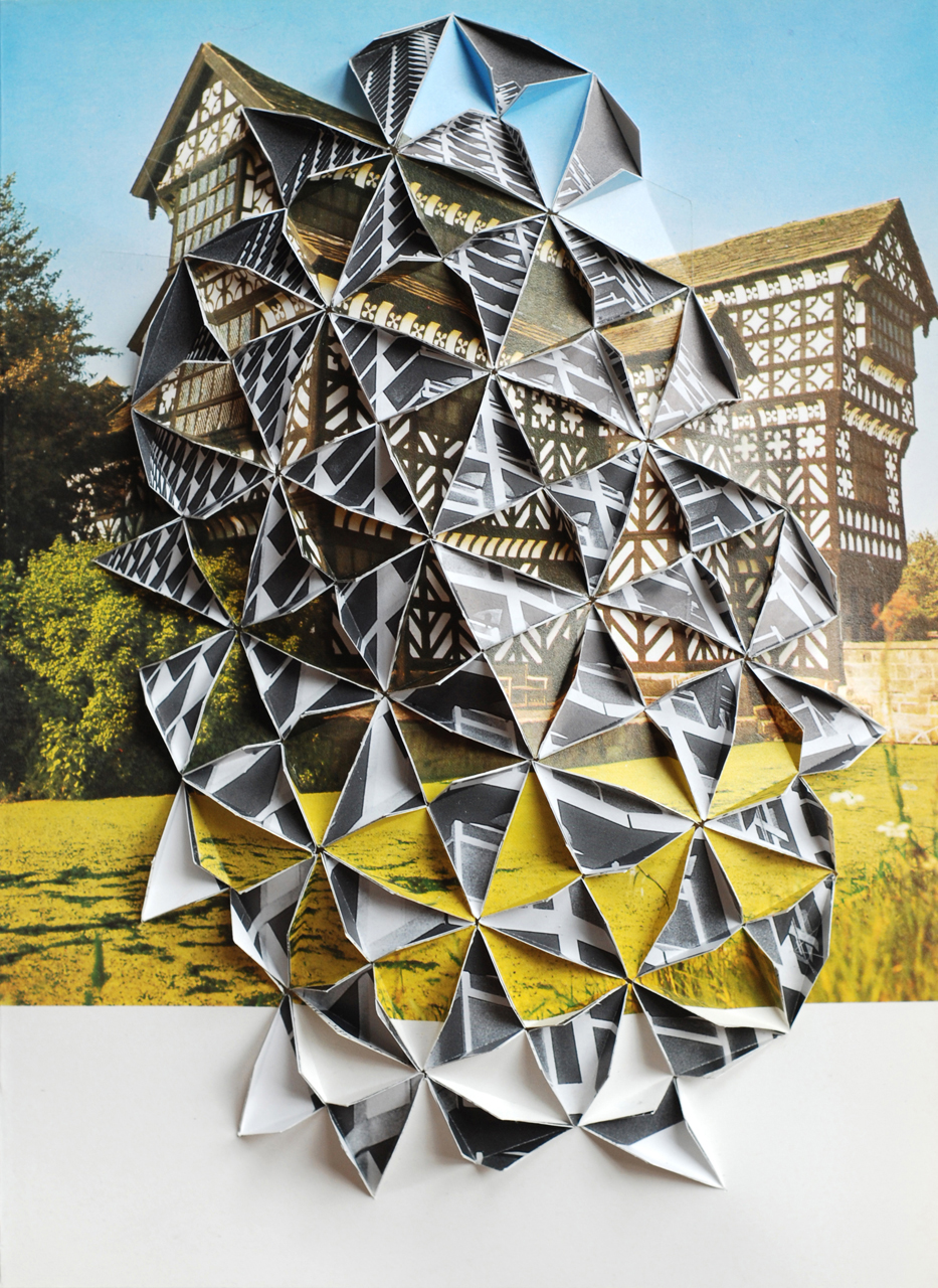 """Collage by Abigail Reynolds, """"Centrepoint 2008"""""""