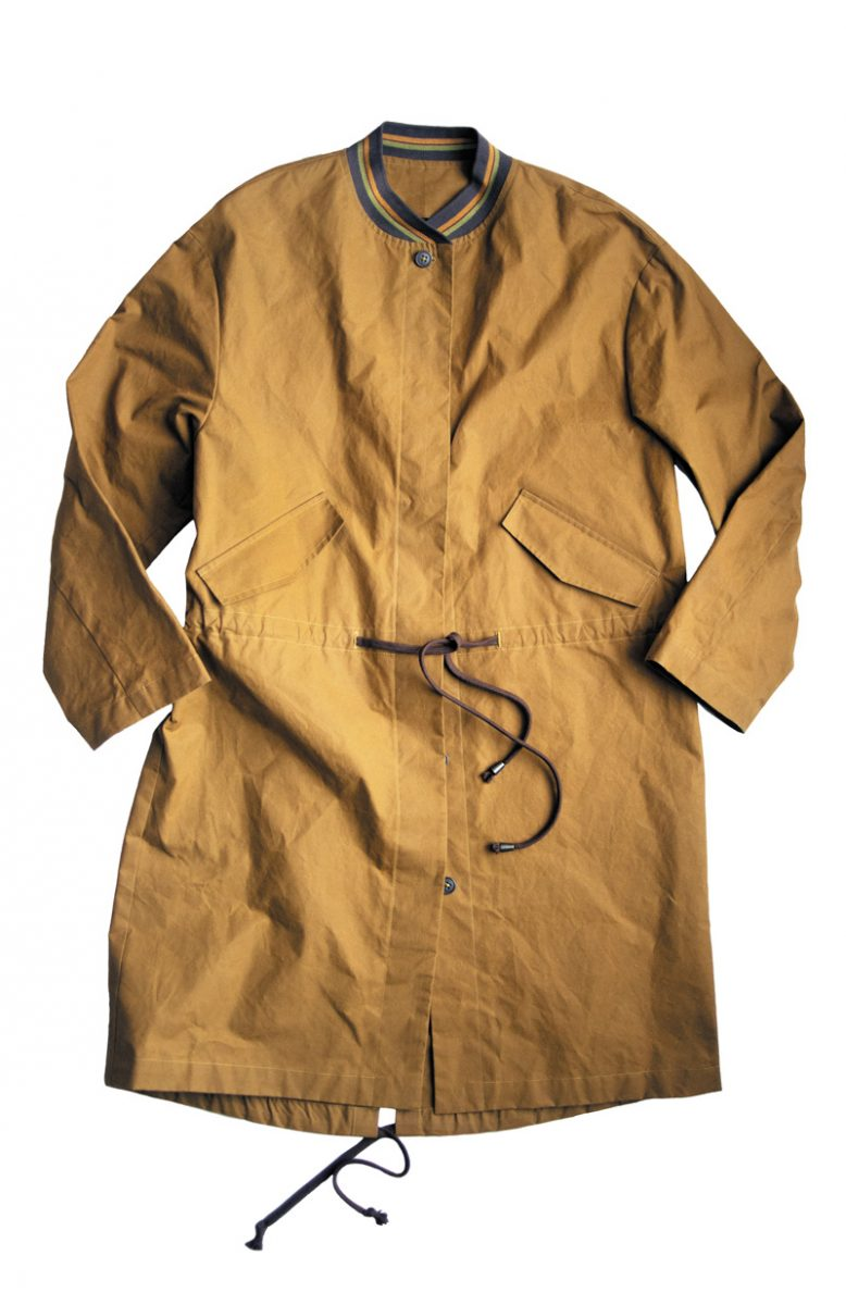 The TN31 Parka by Merchant & Mills. Rye, Sussex.