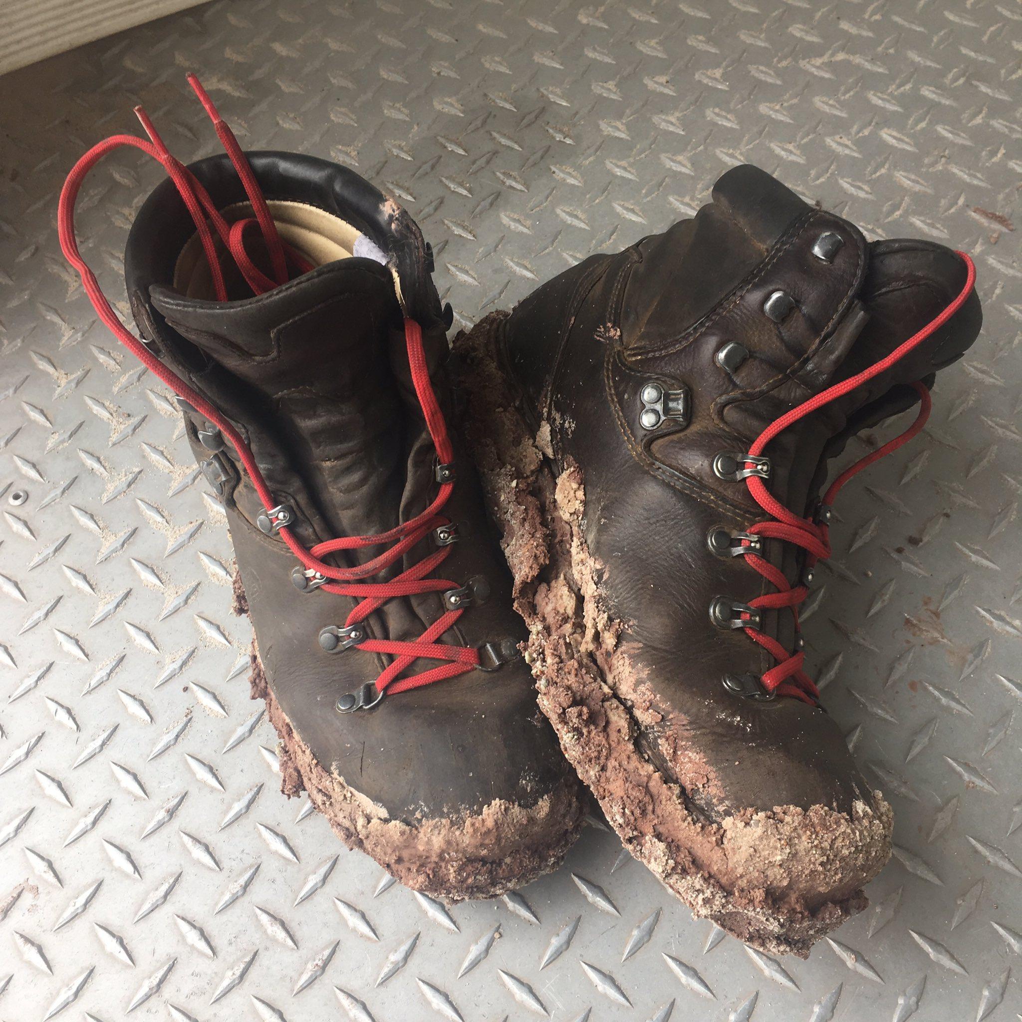 Boots on MDRS, Utah, USA. Photograph: Dan Richards
