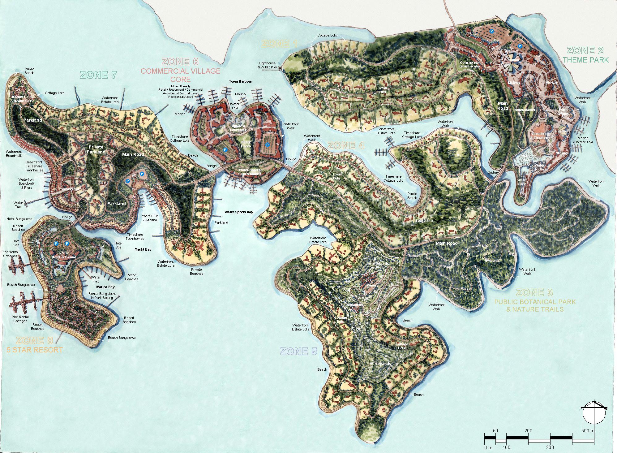 Hainan Island Resort Masterplan
