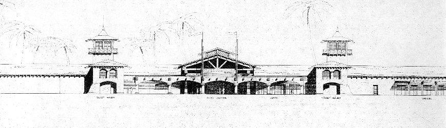 Entry Pavilion Elevation