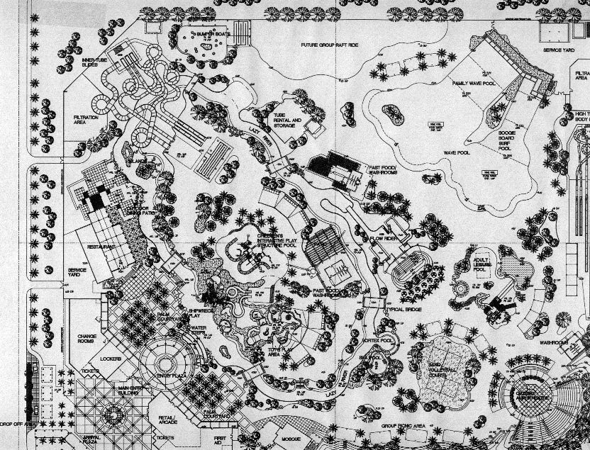 Overall Waterpark Plan
