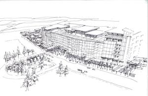 Calgary South Health Campus concept study