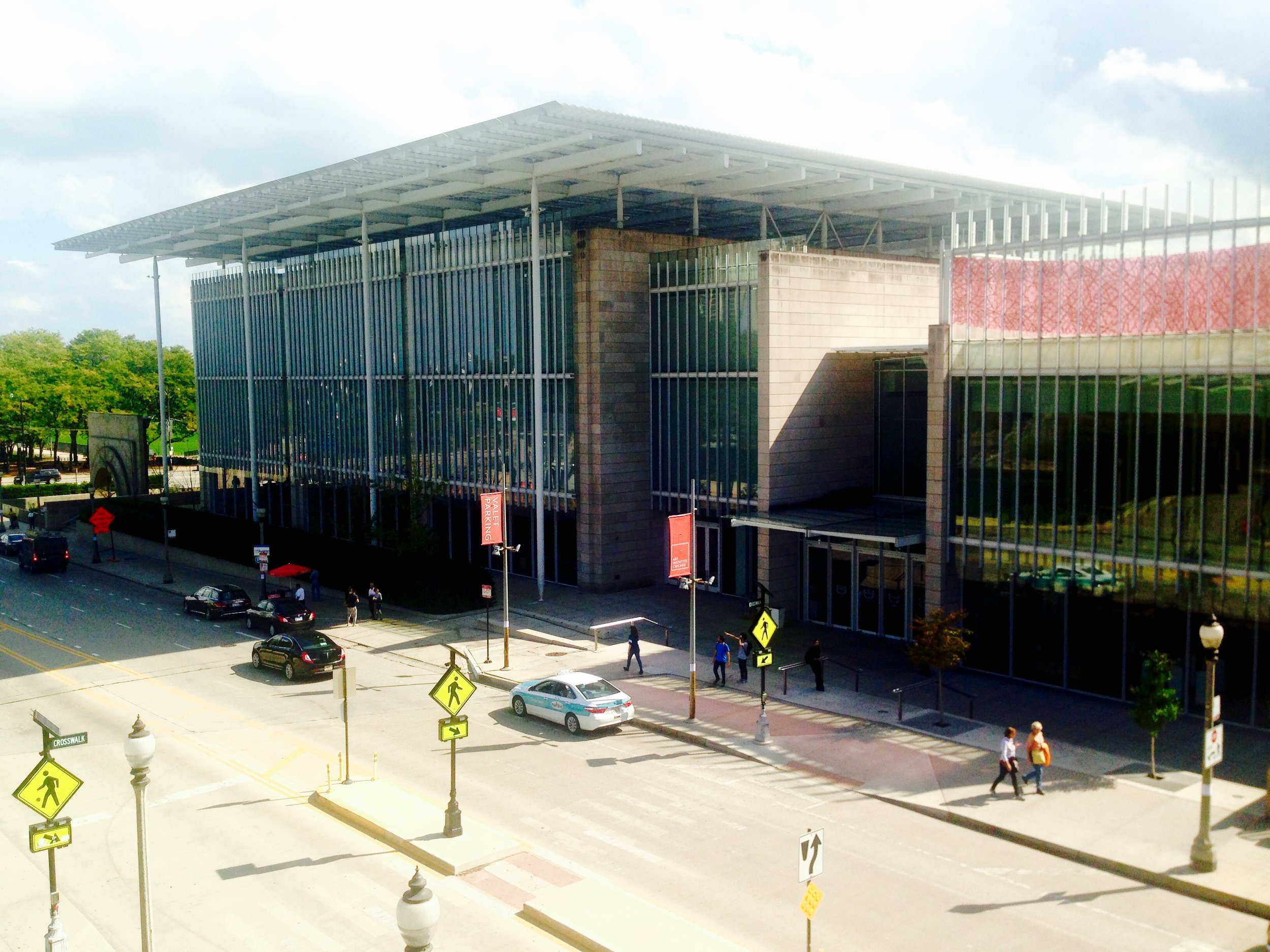 The Art Institute of Chicago-  Renzo Piano Building Workshop