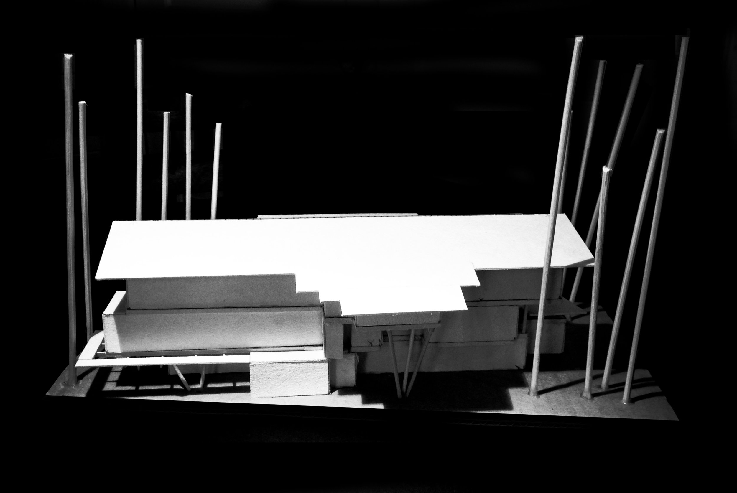 3 Storey Building design model - Parkside View
