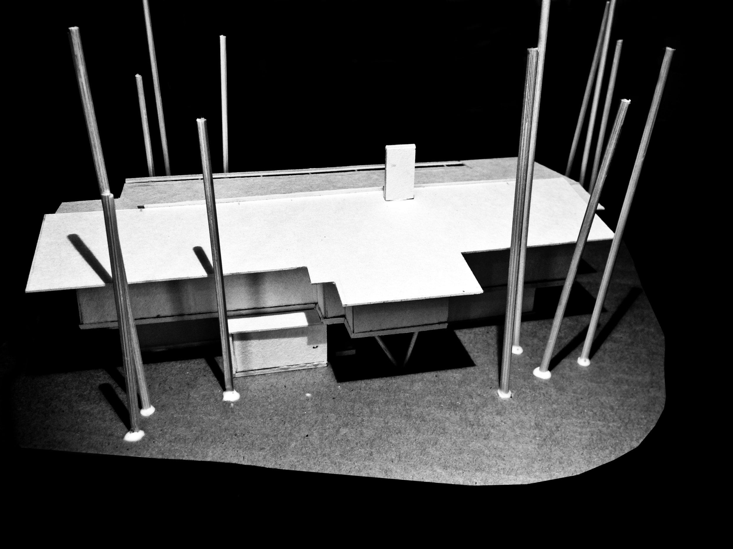 2 Storey Building design model - Parkside View