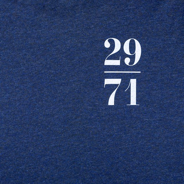 29/71: Blue⠀ ⠀ All of our t-shirts are made of 100% organic cotton. The design is hand screen printed in a single colour, ensuring a fine detailed finish.⠀ ⠀ #2971freediving #2791 #freediving #freediver #apnea #tshirt #organic #scuba #dive #underwater #onebreath #webshop #shop