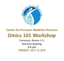 Click image above to watch individual faculty video presentations from  Omics 101 Workshop