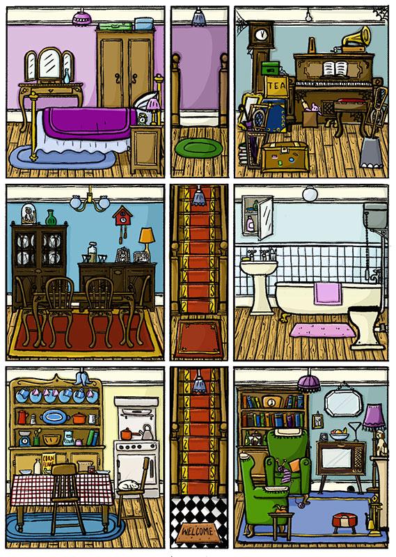Willowdean Dolls House Card Interior