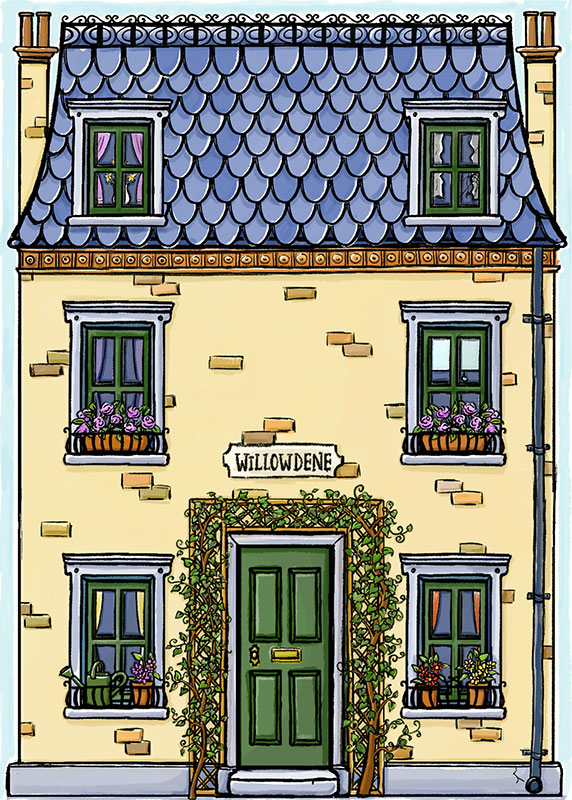 Willowdean Dolls House Card Front