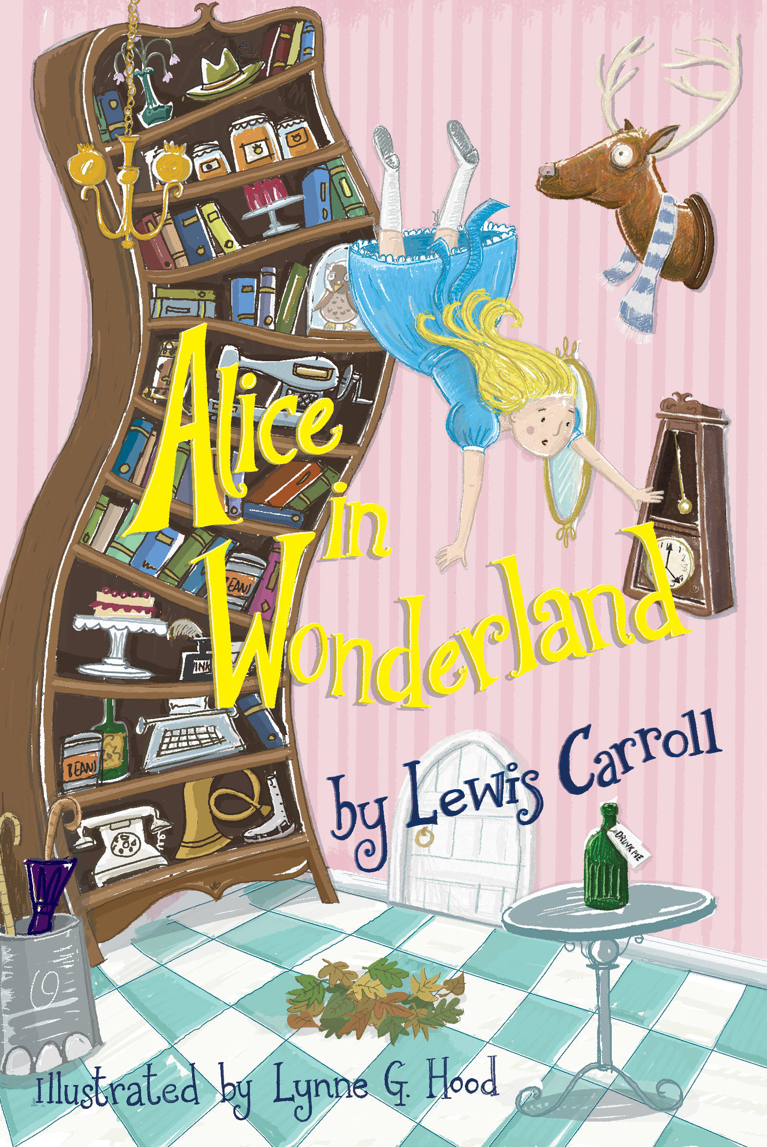 Alice in Wonderland cover design