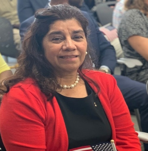 """Maria had been a resident for over 20 years and felt that now, more than ever, it was time for her to become a U.S. citizen. C4C America is Home partner, the Hispanic Interest Coalition of Alabama (HICA), assisted her through the whole process which took approximately 9 months.    """"Becoming a U.S. citizen has changed my life in so many ways and I am so grateful for HICA helping me through the process. I finally feel empowered! I am more than excited and committed to voting in the next presidential elections in 2020"""""""
