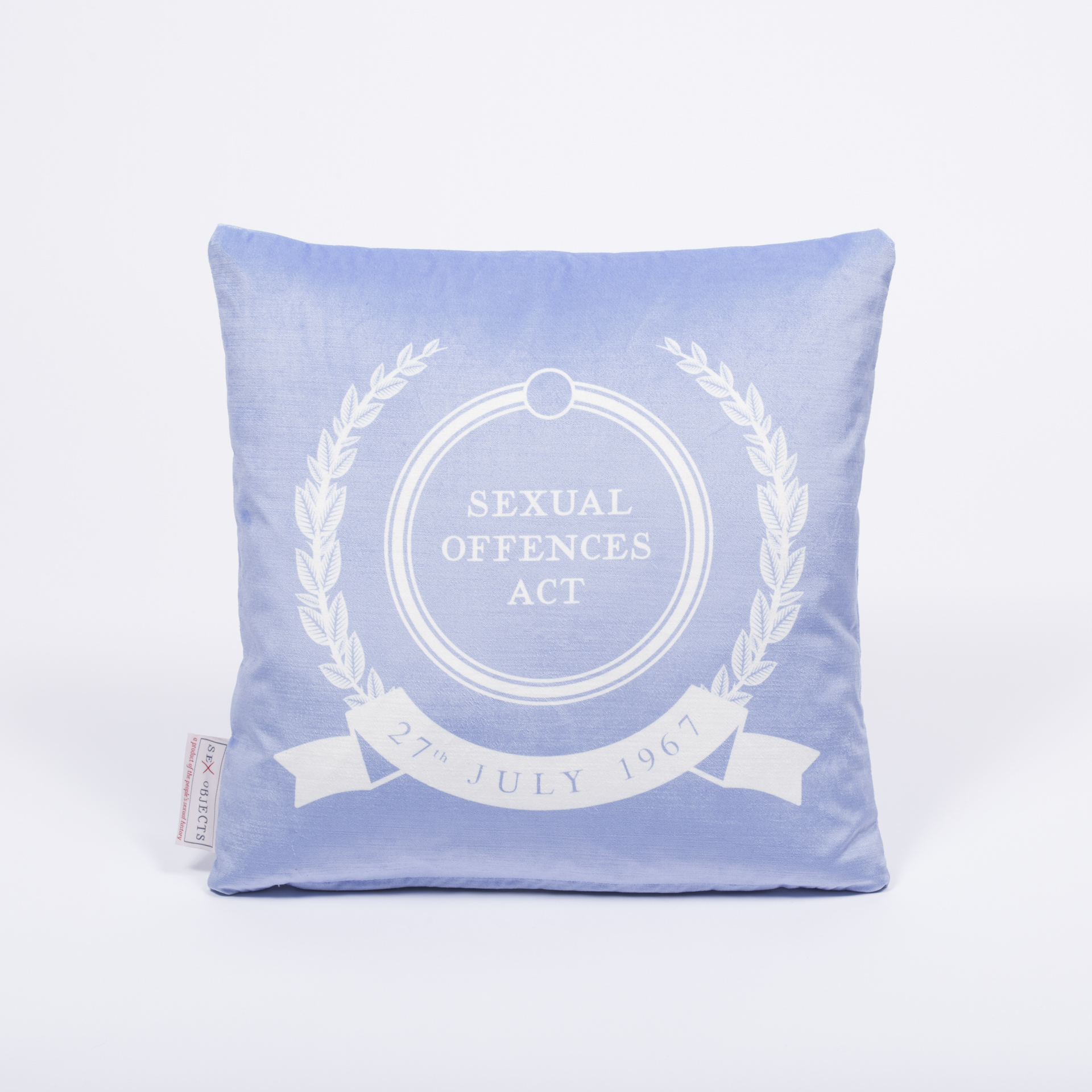 Sexual Offences Act 1967   velvet cushion   Sex Objects