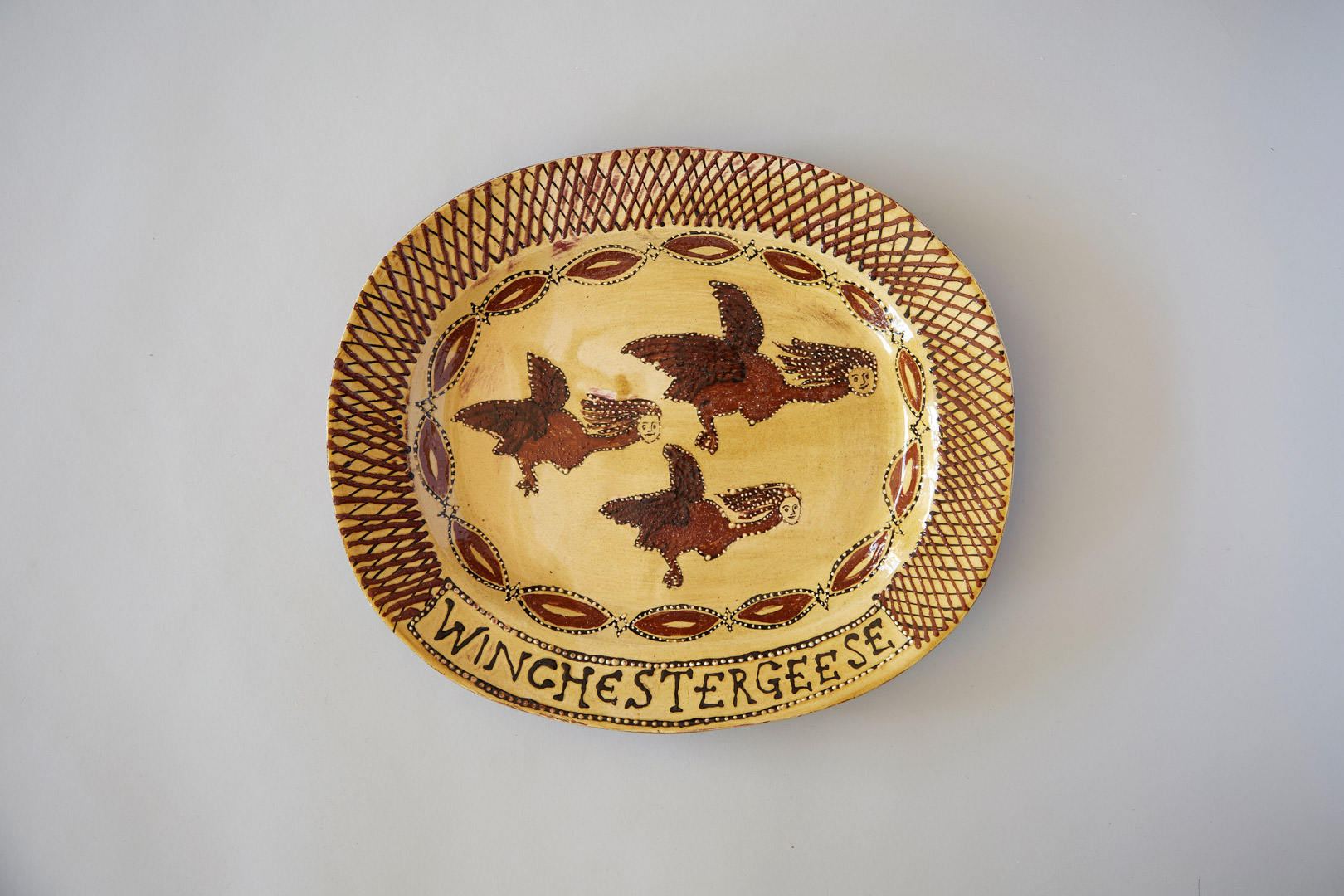 Winchester Geese plate | Museum of Sex Objects