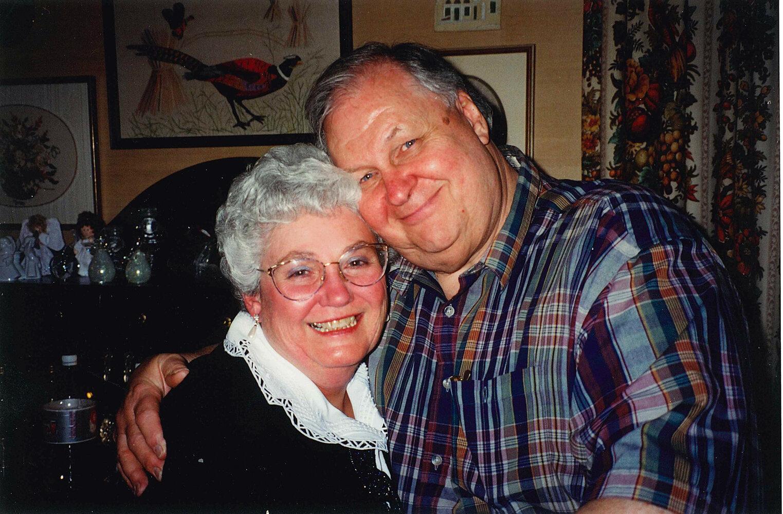 Bill and Myrna April 2000