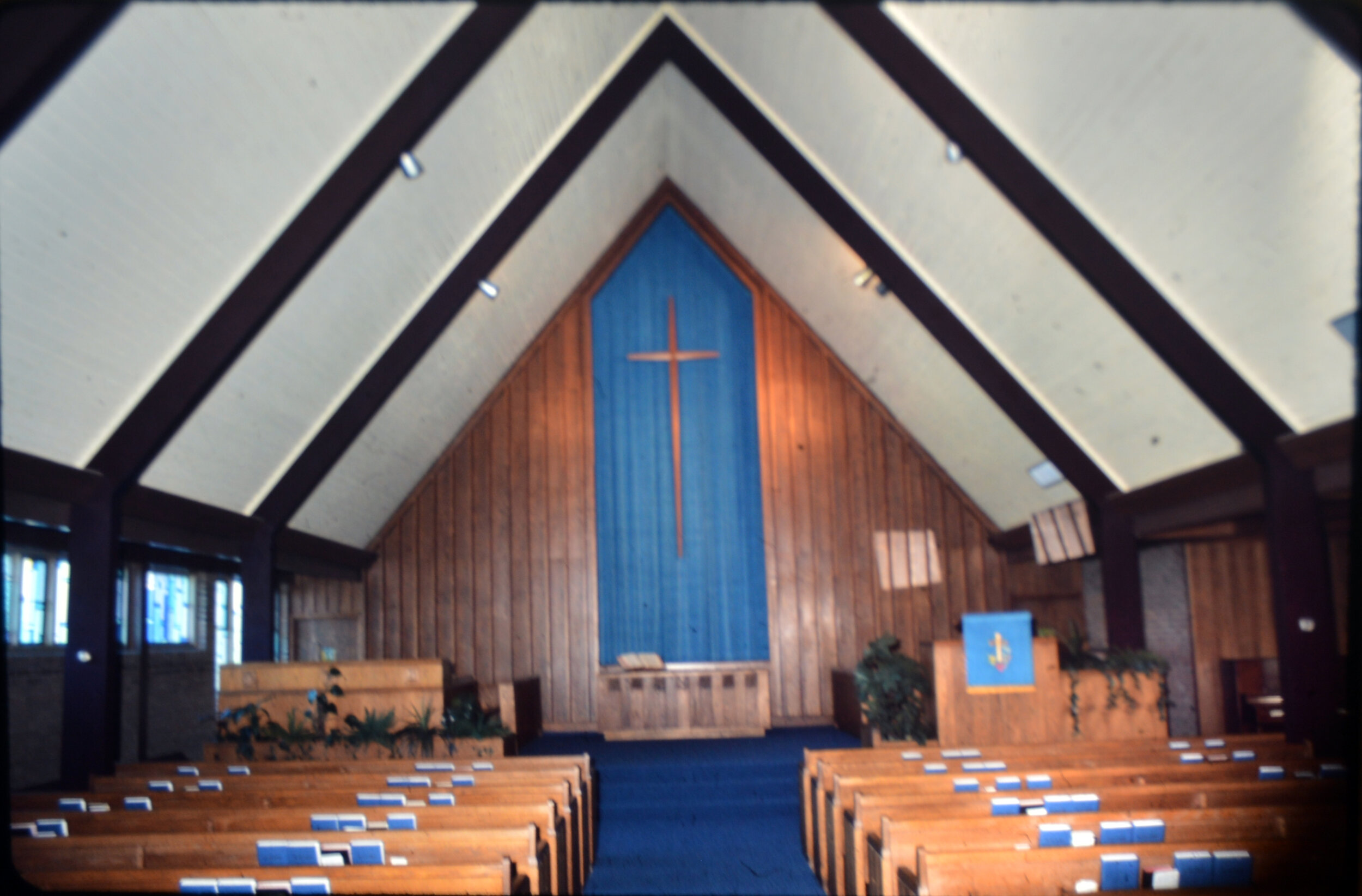 Spring Garden Church Worship Hall 1972