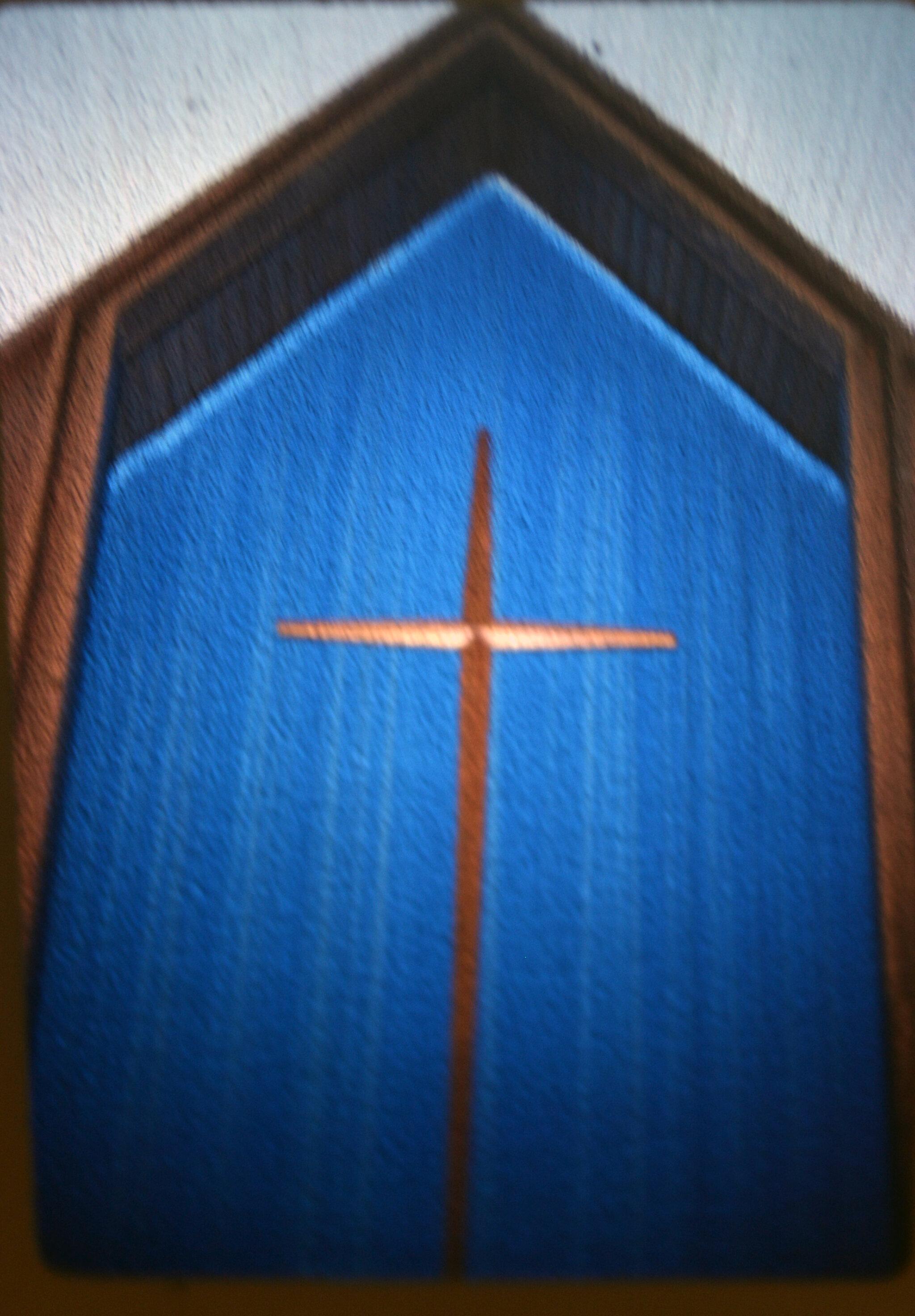 Historical SGC Worship Hall 1972 cross.jpg