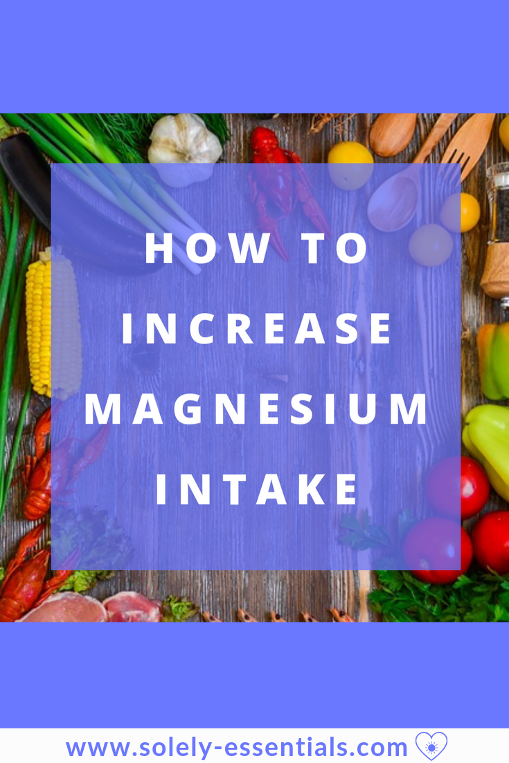 how to increase magnesium intake