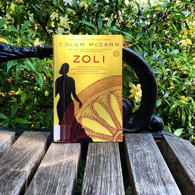 This historical novel took me a few weeks to finish, but the extra time allowed me to really savor McCann's writing.  Zoli is the story of a Romani woman from Slovakia whose songs and poems bring her immense fame and heartbreak.  This rich, haunting novel begins in the 1930s and traces Zoli's life through several decades and multiple perspectives. 📖 . . . . . [#readtheworld #igreads #bookrec #allthebooks #librarybooks #zoli #readinglife #booklife #librarybook #colummccann #bookcover #coverart #historicalfiction #paperback #historicalnovel #litfic #litfix #booksinthewild #reader #vacationread #summerreads #summerbook #literary #readerlife]