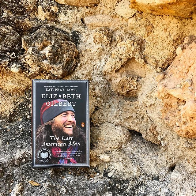 Just started reading this today — it's  Elizabeth Gilbert's portrait of Eustace Conway, a twentieth-century survivalist and conservationist.  At seventeen years old, Conway left home to live on his own in the woods, and has been championing the natural world ever since.  #nonfiction #paperback #readtheworld #igreads #booksinthewild #biography #elizabethgilbert #currentlyreading #readingtime #readinglife #booklife #reader #summerreads #readingoutside