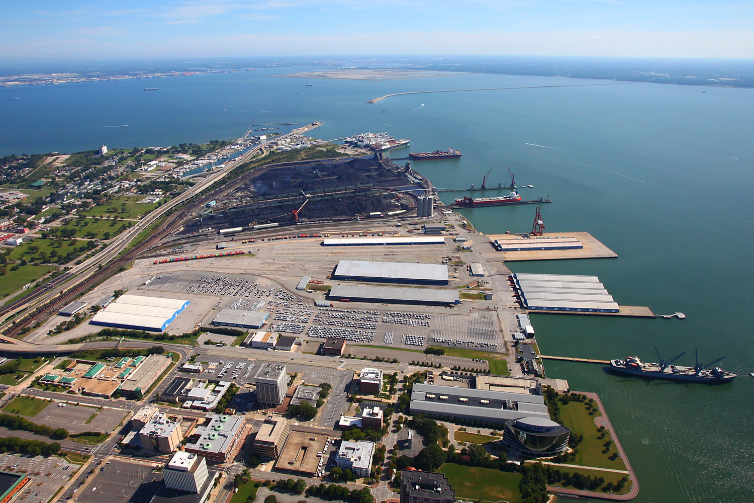 Abundant Waterfront Land and Infrastructure - Virginia's ports offer existing dock capacity and ample on-water marshaling areas. The Virginia coastline is geographically rich with waterfront properties and development or redevelopment opportunities.
