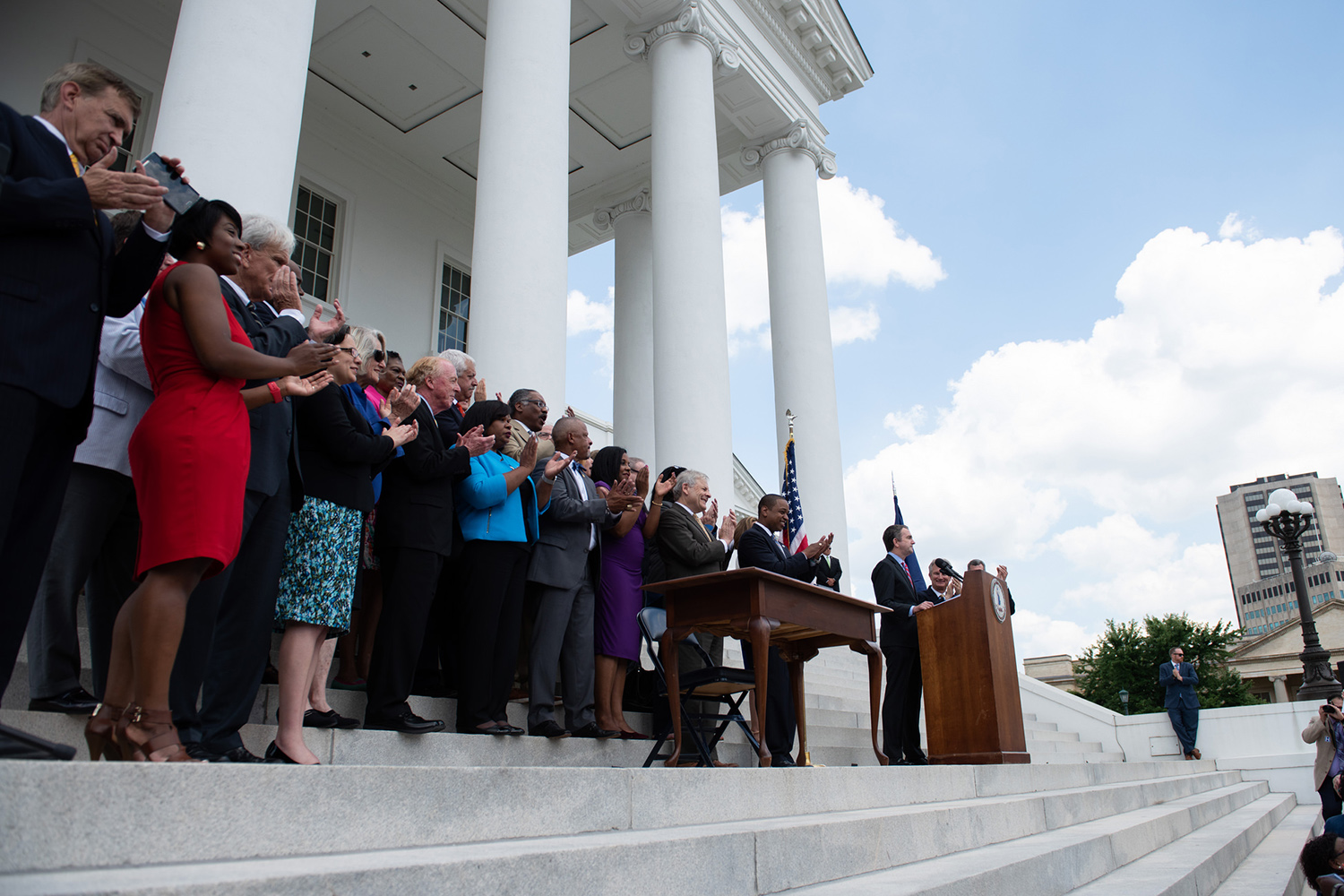 Progressive Energy Policy Stance - In a bipartisan fashion, Virginia's legislature passed the Grid Transformation and Security Act in 2018, which deems 5,000 MW of solar and wind energy generation to be in the public interest.