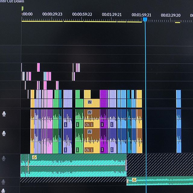 Putting together a fire 3 minutes for @jorgejovel this morning. More B-Roll coming soon... - - - #editing #videoproduction #premiere #premierepro #adobe #editor #production #interviews #testimonial #create #creative #bts #behindthescenes #media #video #timeline #timelinetuesday