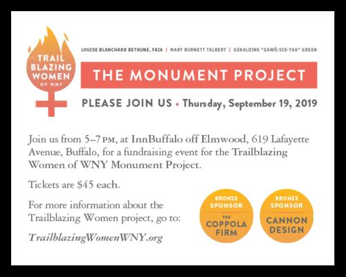 You're invited! - Help us honor our region's trailblazing women on Thursday, September 19, 2019