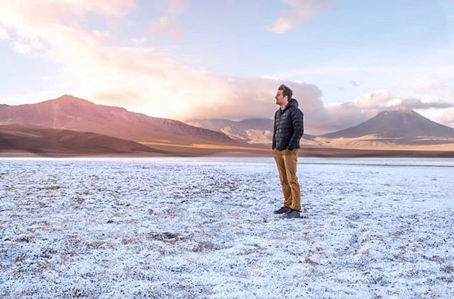 """Access founder @benhortonphoto on location shooting episode three with @eylenepirez in the Atacama desert. """"Having an adventure in the name of science feels right and fulfilling. We learned so much about astronomy and space exploration in the Atacama and we're excited to share our findings with you."""" #accesschile #natureneedshalf"""