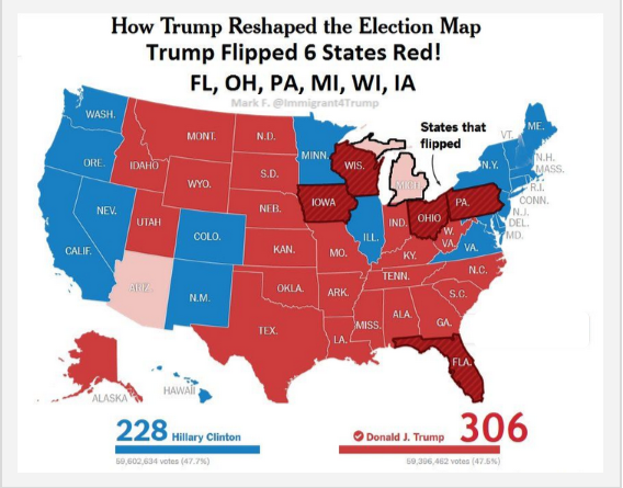 How Trump Reshaped The Election Map