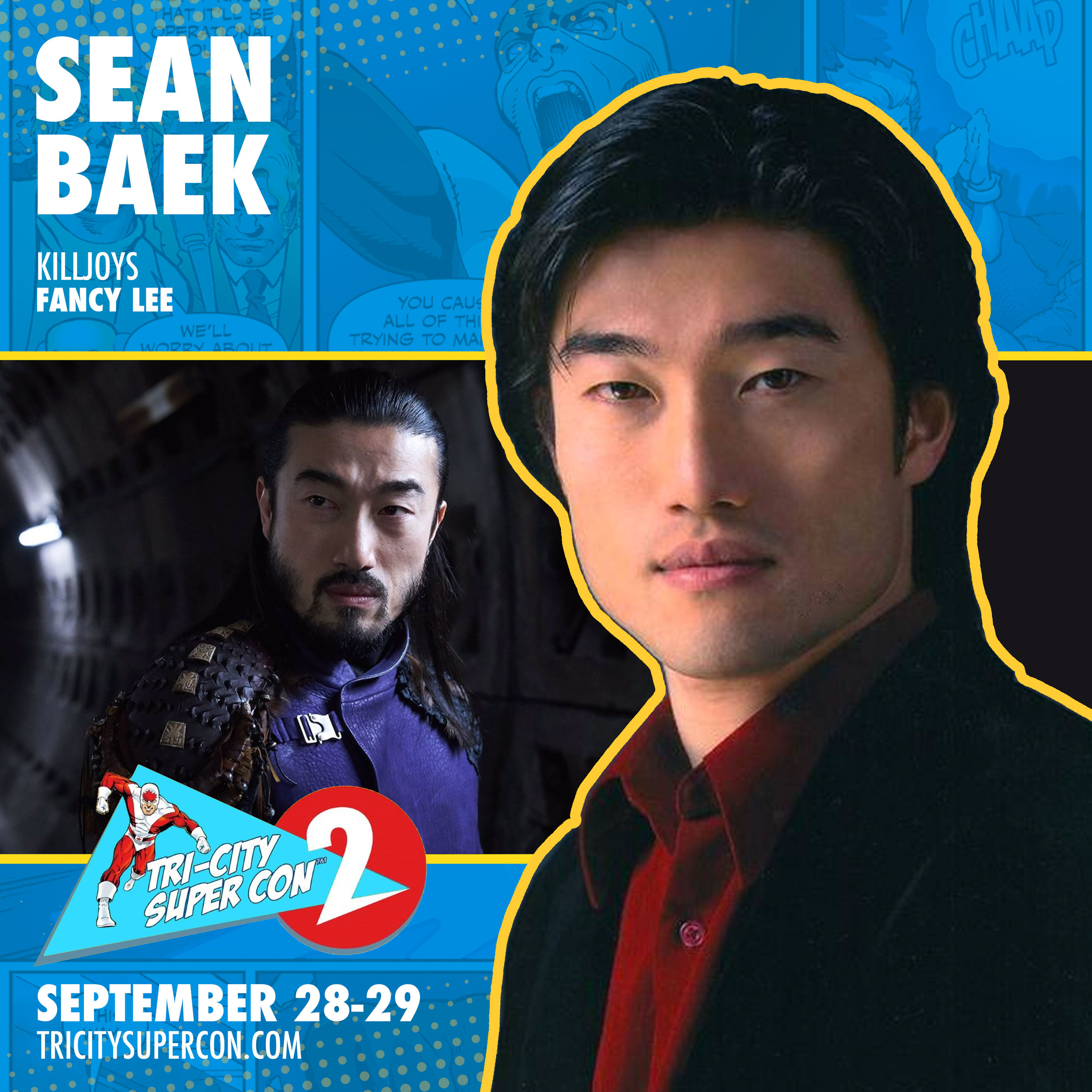 Sean Baek   started his acting career in theatre in Toronto, Ontario, Canada, after graduating from York University's Theatre program with an Honours degree. While continuing to develop as an actor and building a body of work in Theatre, Film, TV, Commercials, and Voice, he was selected from a national search as a member of a prestigious professional development/training program for classical theatre - the Birmingham Conservatory at the Stratford Festival of Canada in 2005. He spent three seasons at the Stratford Festival, appearing in numerous productions (Shakespeare and other classical works). Sean lent his voice to radio dramas for CBC (Canadian Broadcasting Corporation) and few video games.Plays guitar and sings; appeared as a Guest Singer/Song-writer on Rogers' TV Talk Show, DayTime. Has practiced Kuk Sool Won Hapkido, a Korean martial-art system, since he was 16 years old.