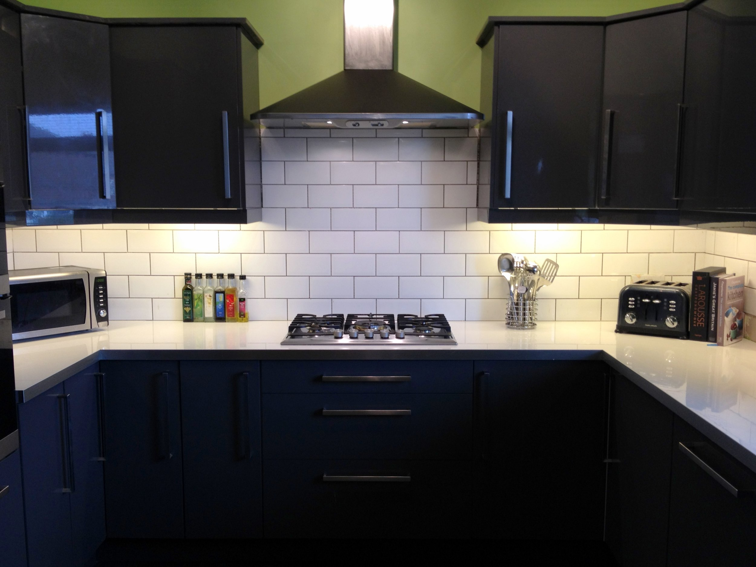 Modernisation of 80s kitchen - With internal structural demolition to create large kitchen diner