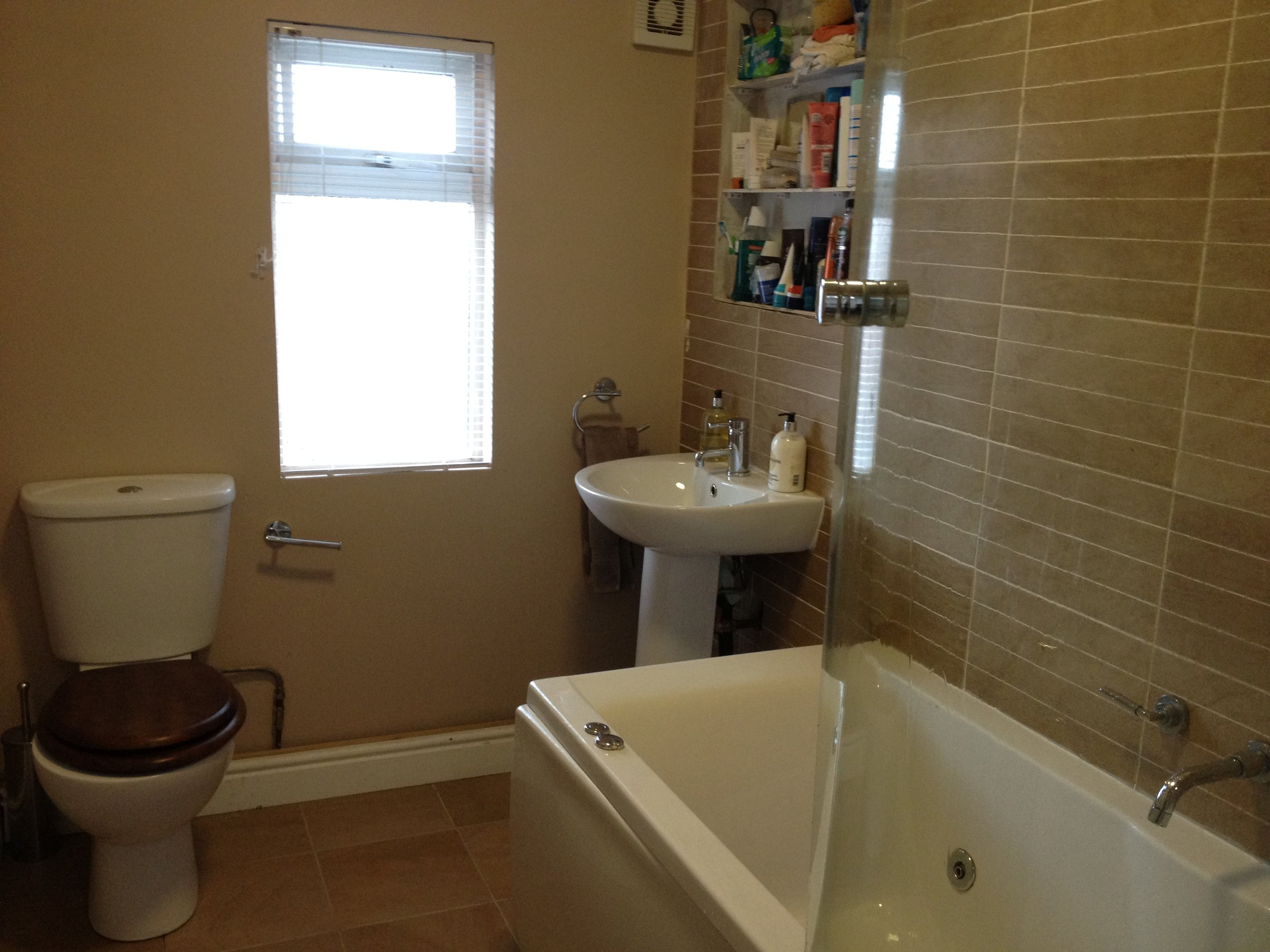 Modernisation, fitting& renovation of a bathroom - Including internal re-modelling
