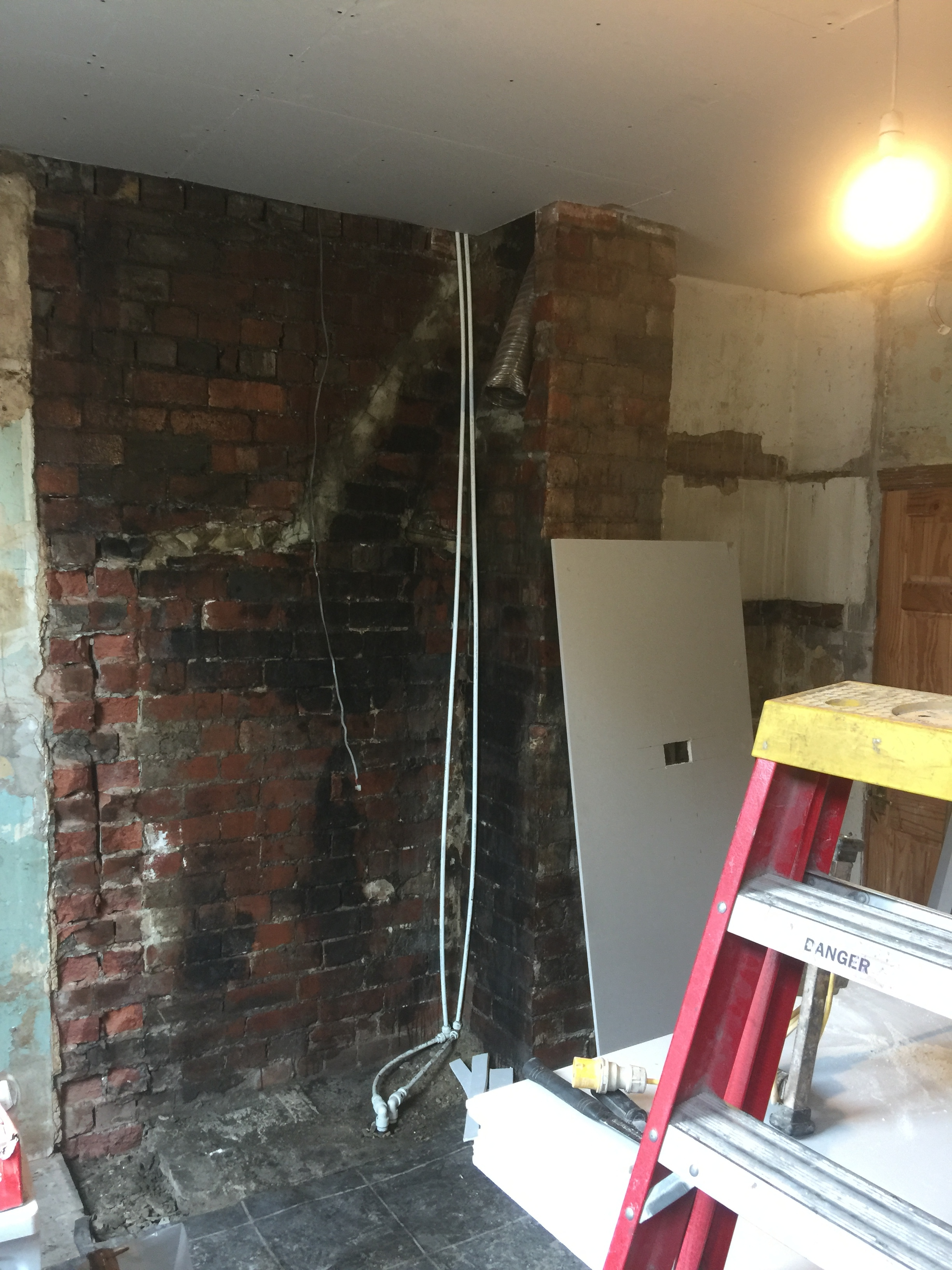 Chimney breasts removed - To create extra space and change layouts