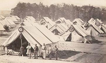 Camp Letterman Gettysburg