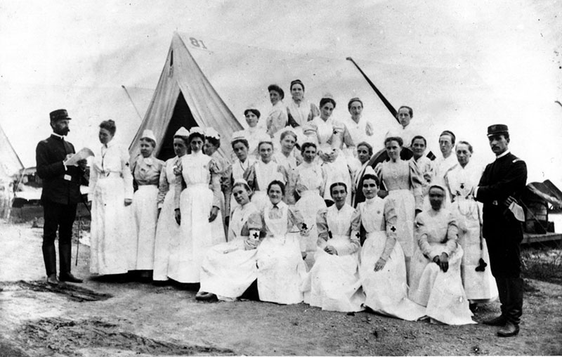 Spanish American War, 1898 The New York NursNurses, Sternberg General Hospital, Camp Thomas, Chickamauga, Georgia
