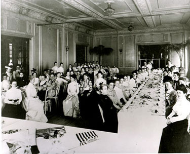 Spanish American War Nurses - First meeting, Sept. 1900 - Luncheon at Sherry's, New York