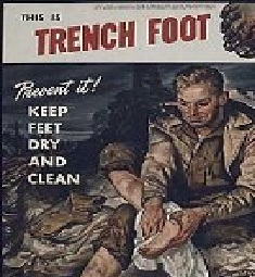 Prevention - the best treatment for Trench Foot