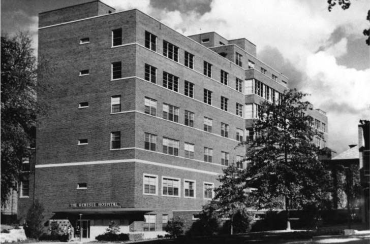 The Genesee Hospital Date 1953
