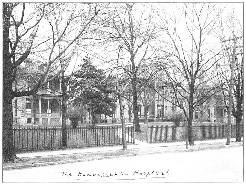 Rochester Homeopathic Hospital 1870's